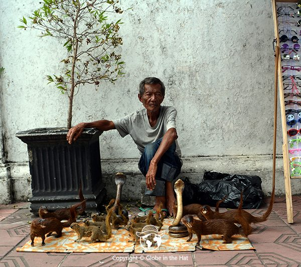 Indonesian Street vendor