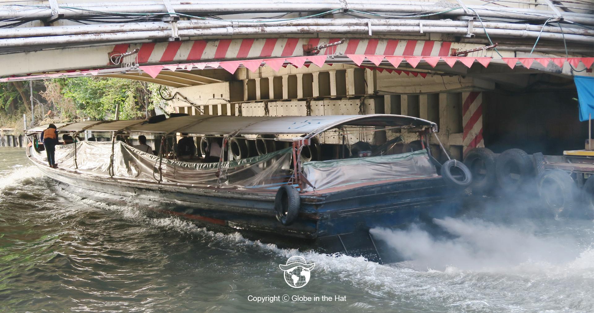 Alat Transportasi Perahu Thailand
