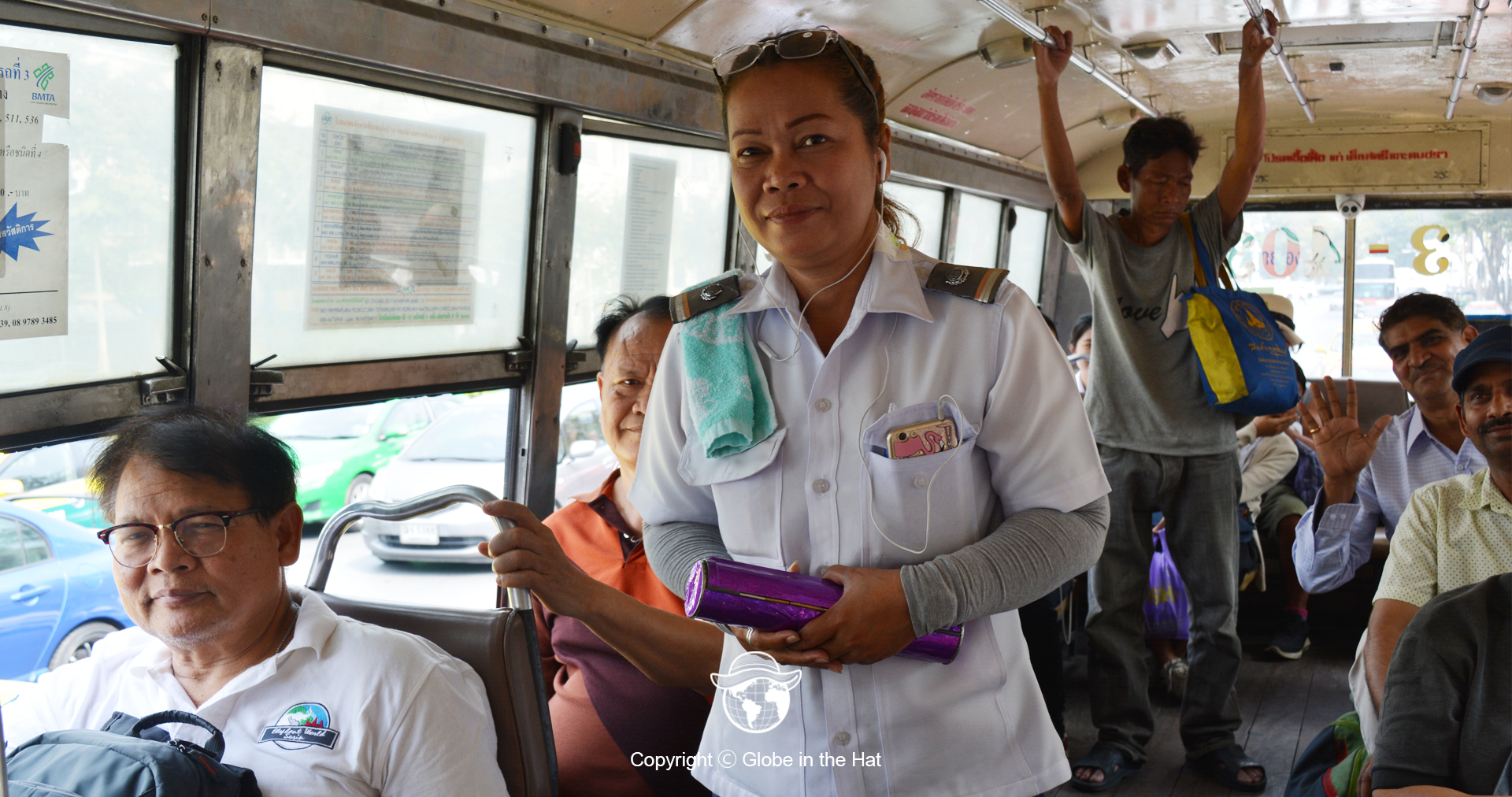 Kenek Bis di Bangkok Thailand
