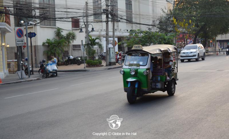 Tuk Tuk Transportation Bangkok Thailand