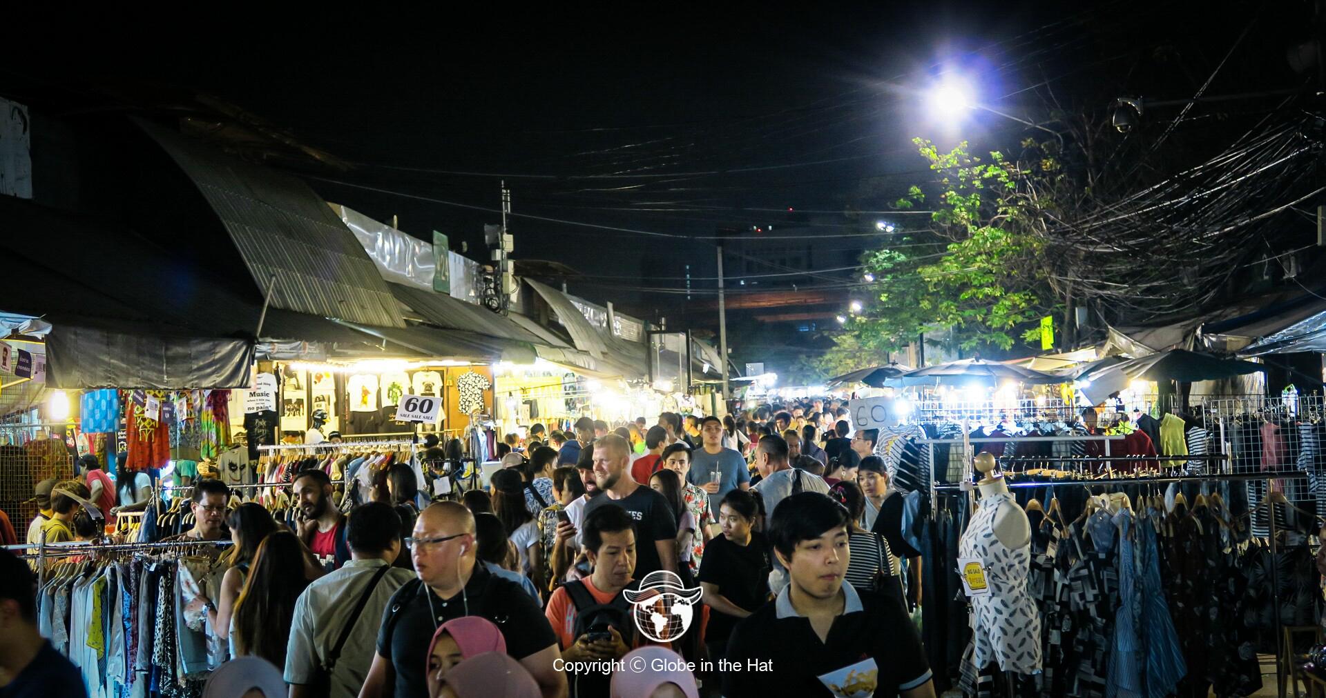 Chatuchak Market Bangkok Thailand - Globe in the Hat